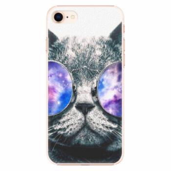 Plastové pouzdro iSaprio - Galaxy Cat - iPhone 8