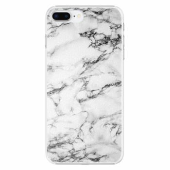 Plastové pouzdro iSaprio - White Marble 01 - iPhone 8 Plus