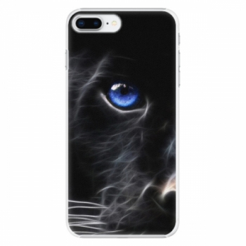 Plastové pouzdro iSaprio - Black Puma - iPhone 8 Plus
