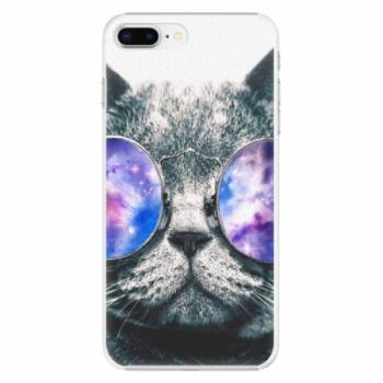 Plastové pouzdro iSaprio - Galaxy Cat - iPhone 8 Plus