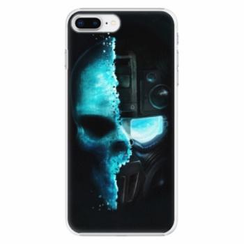 Plastové pouzdro iSaprio - Roboskull - iPhone 8 Plus