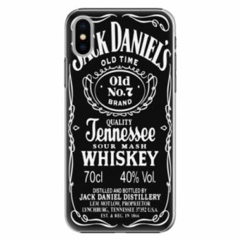 Plastové pouzdro iSaprio - Jack Daniels - iPhone X