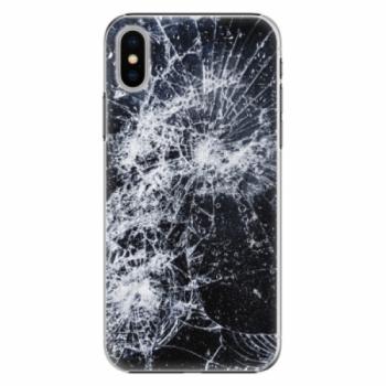 Plastové pouzdro iSaprio - Cracked - iPhone X