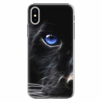 Plastové pouzdro iSaprio - Black Puma - iPhone X