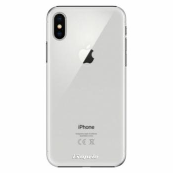 Plastové pouzdro iSaprio - 4Pure - mléčný bez potisku - iPhone X