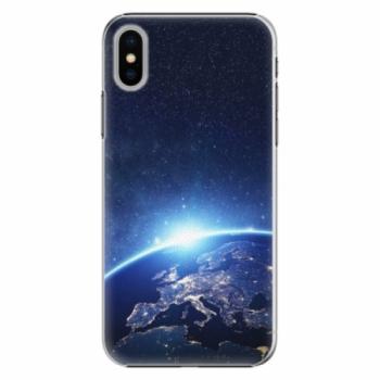 Plastové pouzdro iSaprio - Earth at Night - iPhone X
