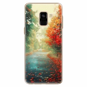 Plastové pouzdro iSaprio - Autumn 03 - Samsung Galaxy A8 2018