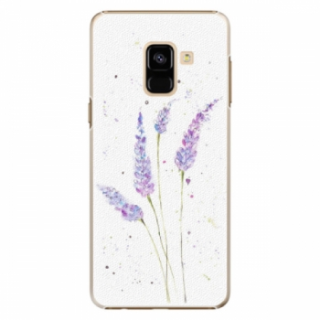 Plastové pouzdro iSaprio - Lavender - Samsung Galaxy A8 2018