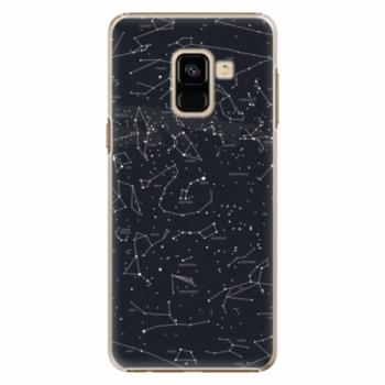 Plastové pouzdro iSaprio - Night Sky 01 - Samsung Galaxy A8 2018
