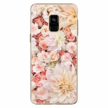 Plastové pouzdro iSaprio - Flower Pattern 06 - Samsung Galaxy A8 2018