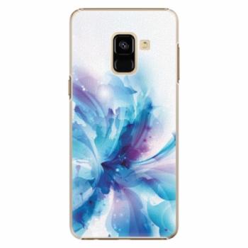 Plastové pouzdro iSaprio - Abstract Flower - Samsung Galaxy A8 2018