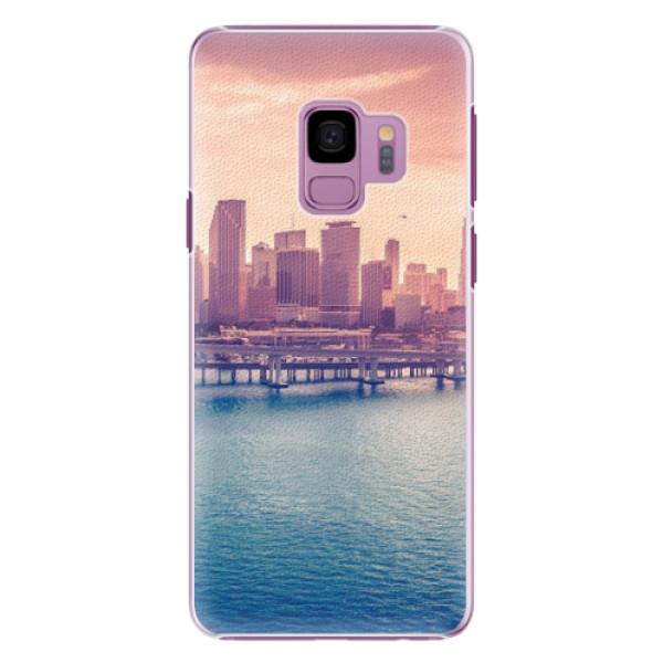 Plastové pouzdro iSaprio - Morning in a City - Samsung Galaxy S9