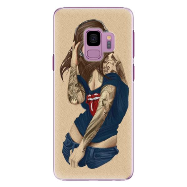 Plastové pouzdro iSaprio - Girl 03 - Samsung Galaxy S9