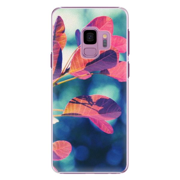Plastové pouzdro iSaprio - Autumn 01 - Samsung Galaxy S9