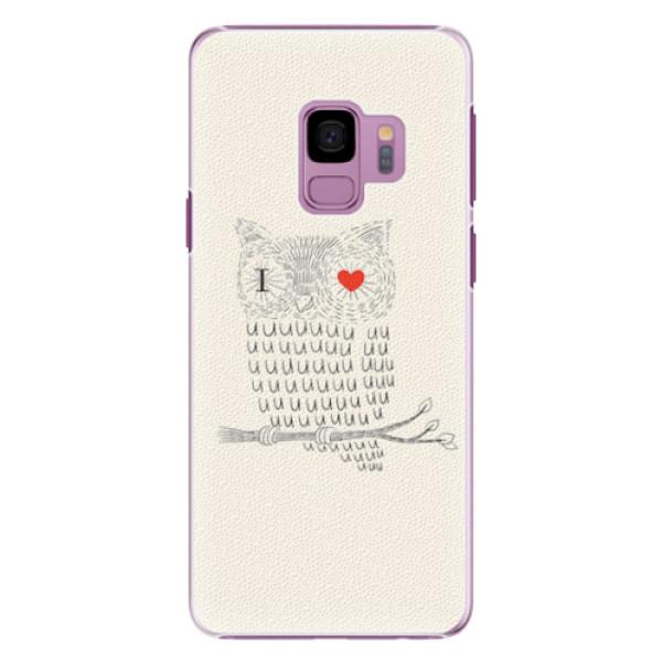 Plastové pouzdro iSaprio - I Love You 01 - Samsung Galaxy S9