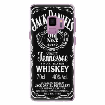 Plastové pouzdro iSaprio - Jack Daniels - Samsung Galaxy S9