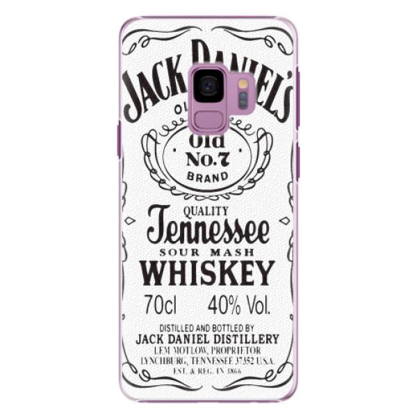 Plastové pouzdro iSaprio - Jack White - Samsung Galaxy S9