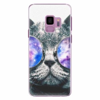 Plastové pouzdro iSaprio - Galaxy Cat - Samsung Galaxy S9