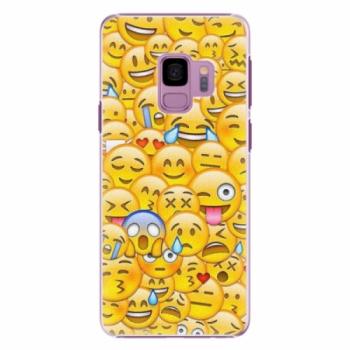 Plastové pouzdro iSaprio - Emoji - Samsung Galaxy S9