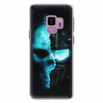Plastové pouzdro iSaprio - Roboskull - Samsung Galaxy S9