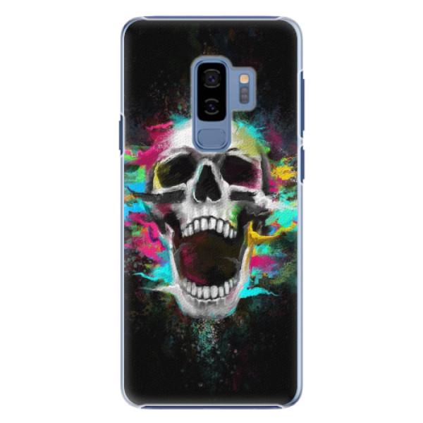Plastové pouzdro iSaprio - Skull in Colors - Samsung Galaxy S9 Plus