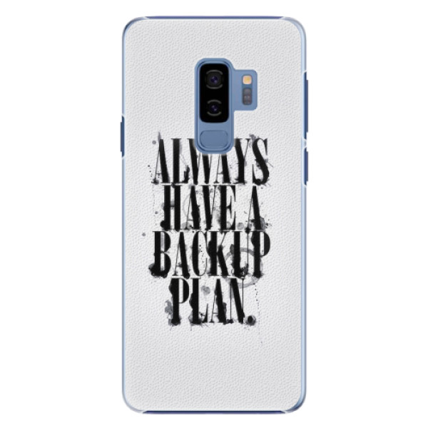 Plastové pouzdro iSaprio - Backup Plan - Samsung Galaxy S9 Plus