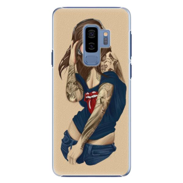 Plastové pouzdro iSaprio - Girl 03 - Samsung Galaxy S9 Plus