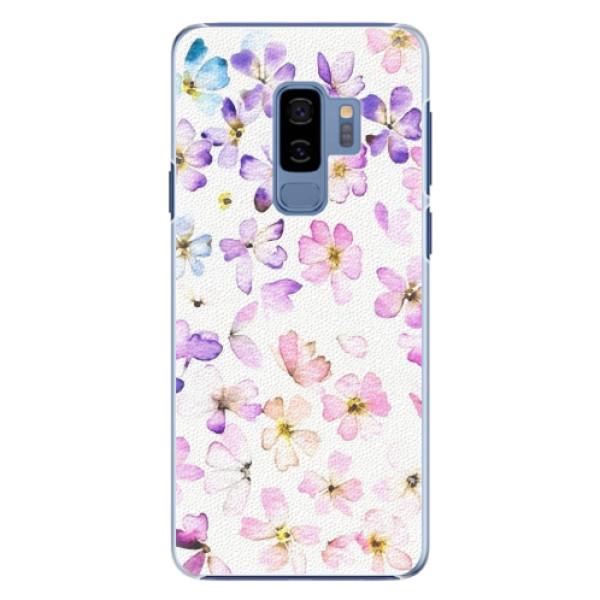 Plastové pouzdro iSaprio - Wildflowers - Samsung Galaxy S9 Plus