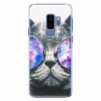 Plastové pouzdro iSaprio - Galaxy Cat - Samsung Galaxy S9 Plus