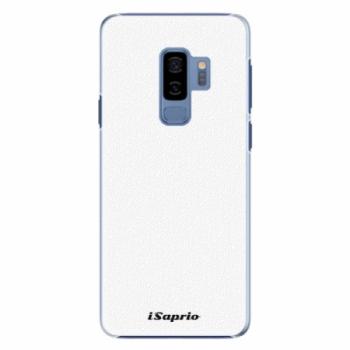 Plastové pouzdro iSaprio - 4Pure - bílý - Samsung Galaxy S9 Plus