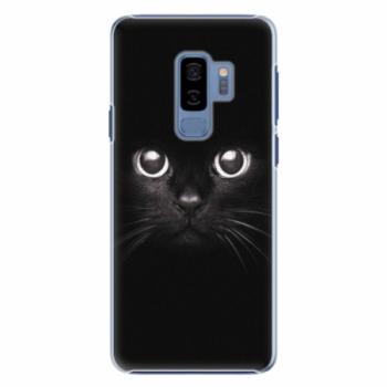 Plastové pouzdro iSaprio - Black Cat - Samsung Galaxy S9 Plus