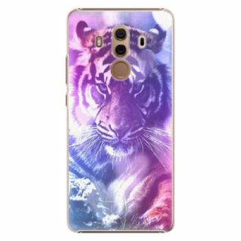 Plastové pouzdro iSaprio - Purple Tiger - Huawei Mate 10 Pro