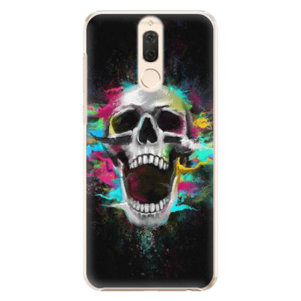Plastové pouzdro iSaprio - Skull in Colors - Huawei Mate 10 Lite