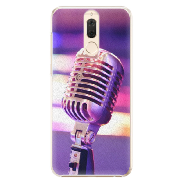 Plastové pouzdro iSaprio - Vintage Microphone - Huawei Mate 10 Lite