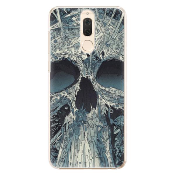 Plastové pouzdro iSaprio - Abstract Skull - Huawei Mate 10 Lite