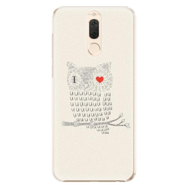 Plastové pouzdro iSaprio - I Love You 01 - Huawei Mate 10 Lite