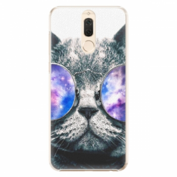 Plastové pouzdro iSaprio - Galaxy Cat - Huawei Mate 10 Lite