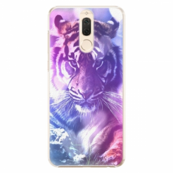 Plastové pouzdro iSaprio - Purple Tiger - Huawei Mate 10 Lite