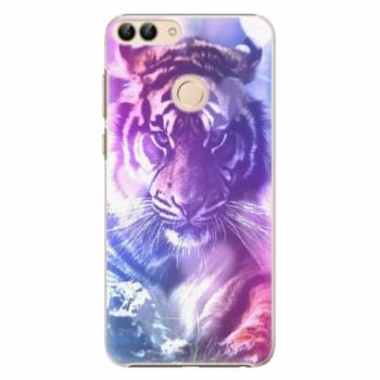 Plastové pouzdro iSaprio - Purple Tiger - Huawei P Smart