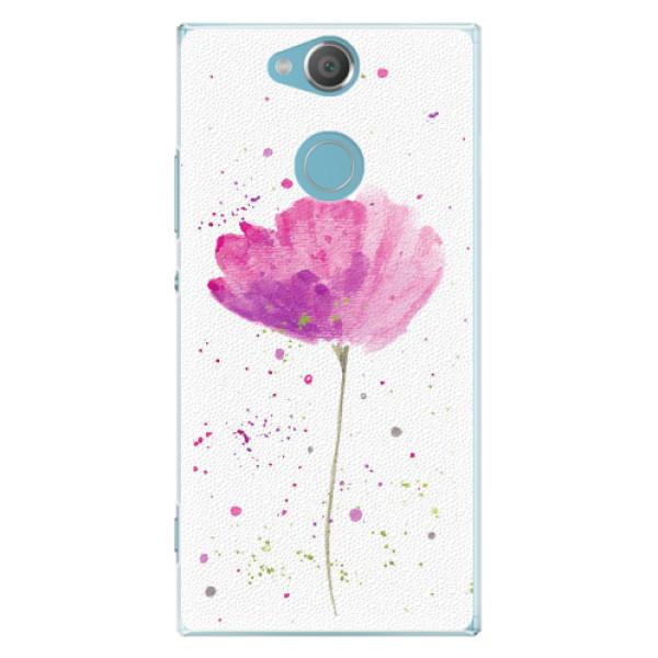 Plastové pouzdro iSaprio - Poppies - Sony Xperia XA2