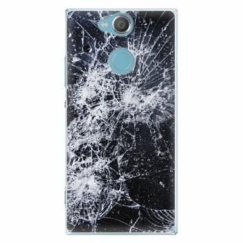 Plastové pouzdro iSaprio - Cracked - Sony Xperia XA2