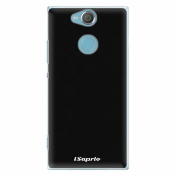 Plastové pouzdro iSaprio - 4Pure - černý - Sony Xperia XA2