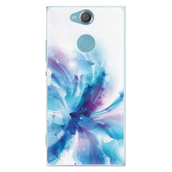 Plastové pouzdro iSaprio - Abstract Flower - Sony Xperia XA2