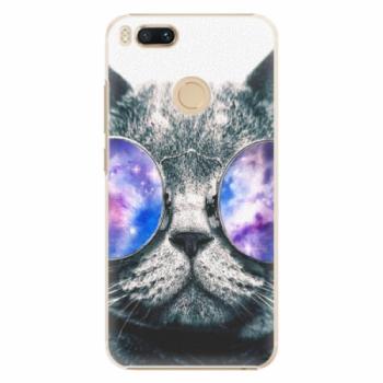 Plastové pouzdro iSaprio - Galaxy Cat - Xiaomi Mi A1