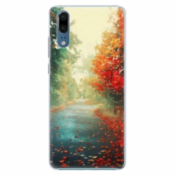 Plastové pouzdro iSaprio - Autumn 03 - Huawei P20