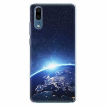 Plastové pouzdro iSaprio - Earth at Night - Huawei P20