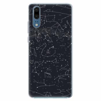 Plastové pouzdro iSaprio - Night Sky 01 - Huawei P20