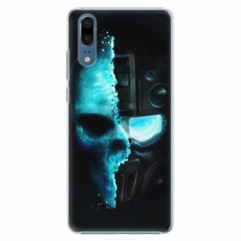 Plastové pouzdro iSaprio - Roboskull - Huawei P20