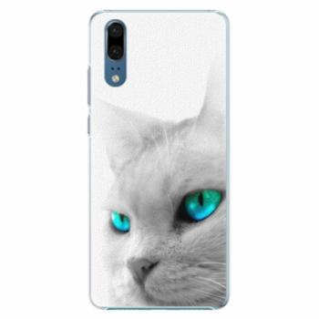 Plastové pouzdro iSaprio - Cats Eyes - Huawei P20
