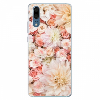 Plastové pouzdro iSaprio - Flower Pattern 06 - Huawei P20